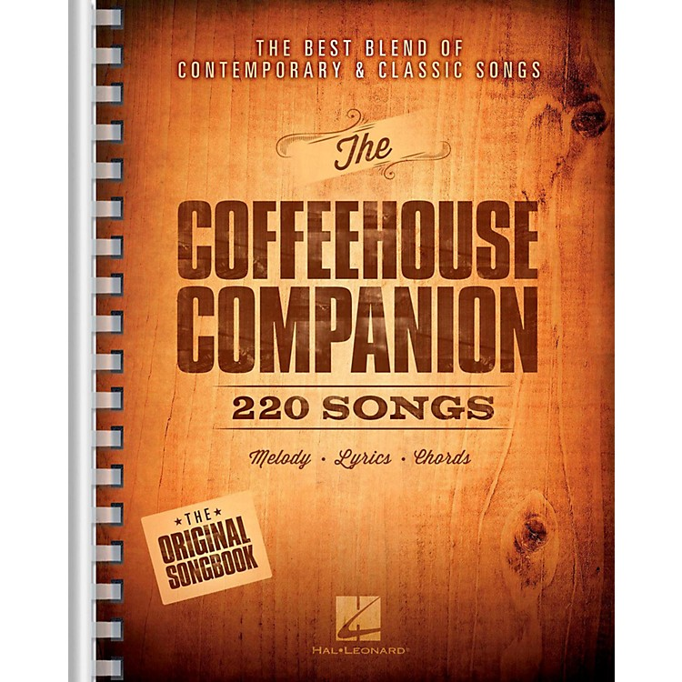 Hal LeonardThe Coffeehouse Companion - The Best Blend of Contemporary & Classic Songs