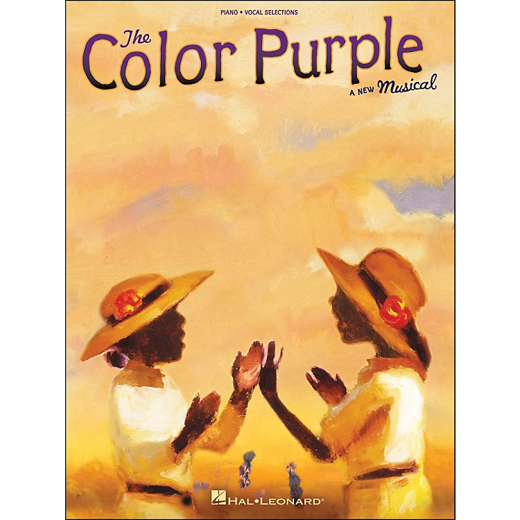 Hal Leonard The Color Purple - A New Musical arranged for piano, vocal, and guitar (P/V/G)