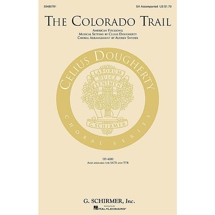 G. SchirmerThe Colorado Trail SA arranged by Audrey Snyder