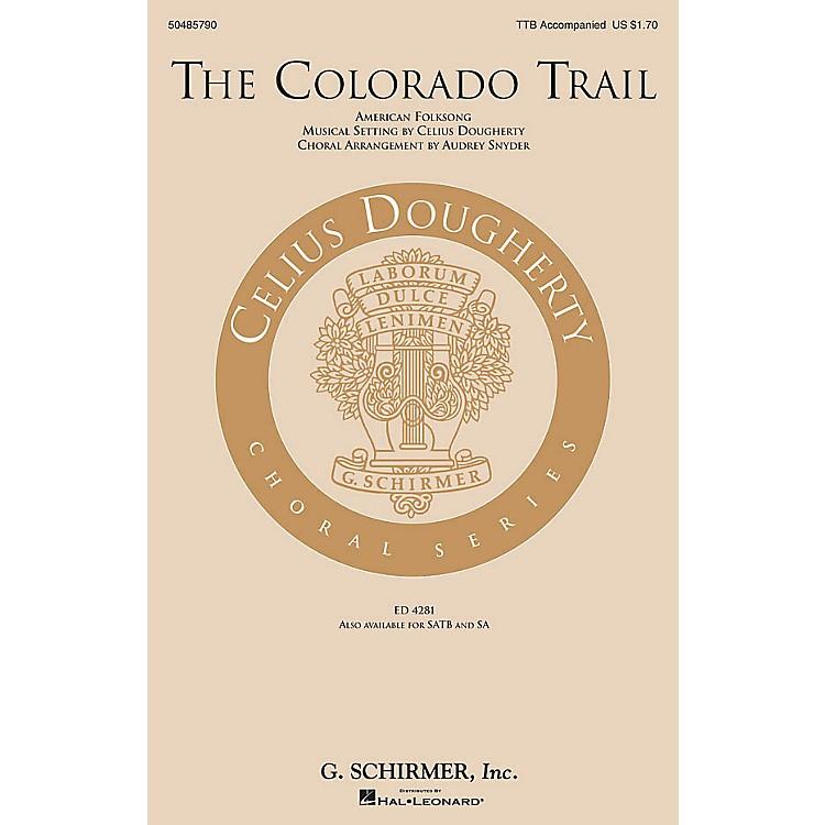 G. SchirmerThe Colorado Trail TTB arranged by Audrey Snyder