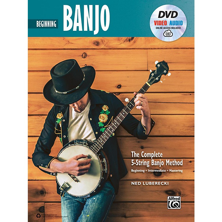 Alfred The Complete 5-String Banjo Method: Beginning Banjo, Book, DVD & Online Audio & Video