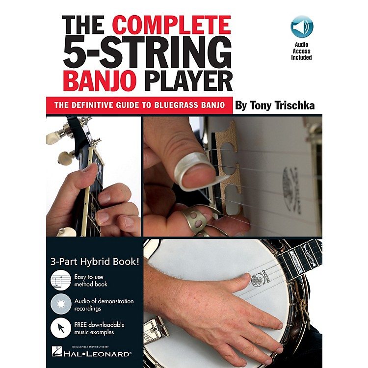 Music SalesThe Complete 5-String Banjo Player Music Sales America Series Softcover with CD by Tony Trischka