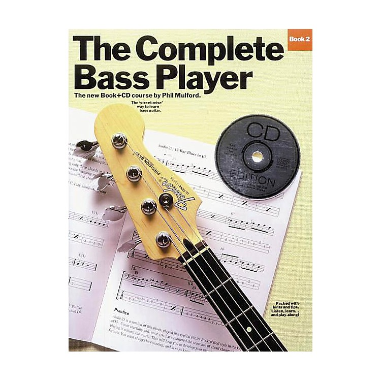 Music SalesThe Complete Bass Player - Book 2 Music Sales America Series Softcover with CD Written by Phil Mulford