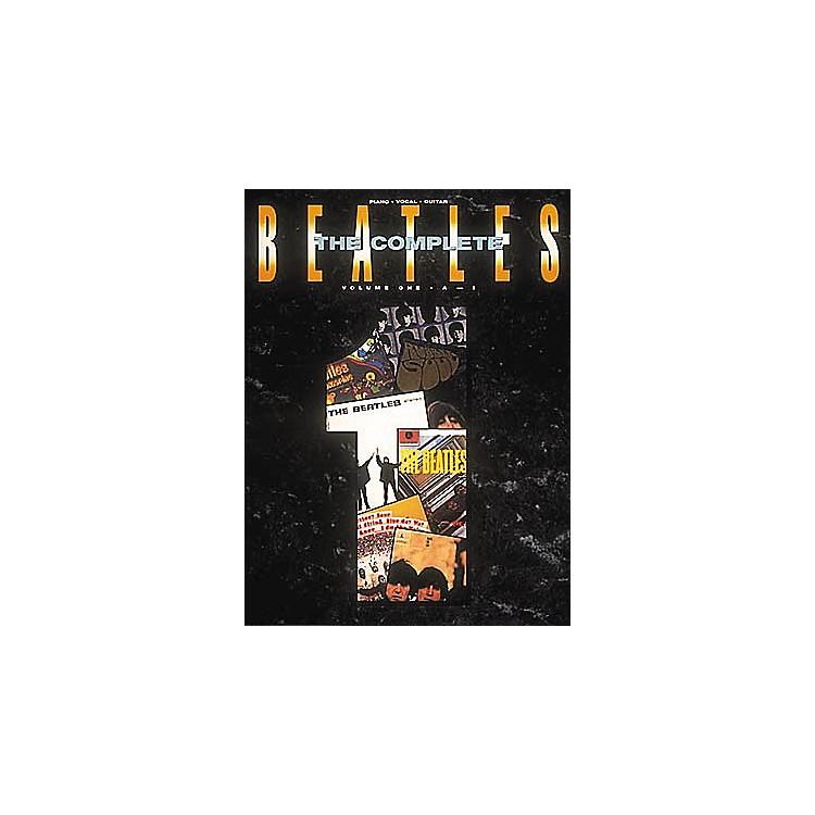 Hal LeonardThe Complete Beatles Volume 1 Piano, Vocal, Guitar Songbook