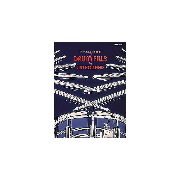 Hal LeonardThe Complete Book of Drum Fills Book