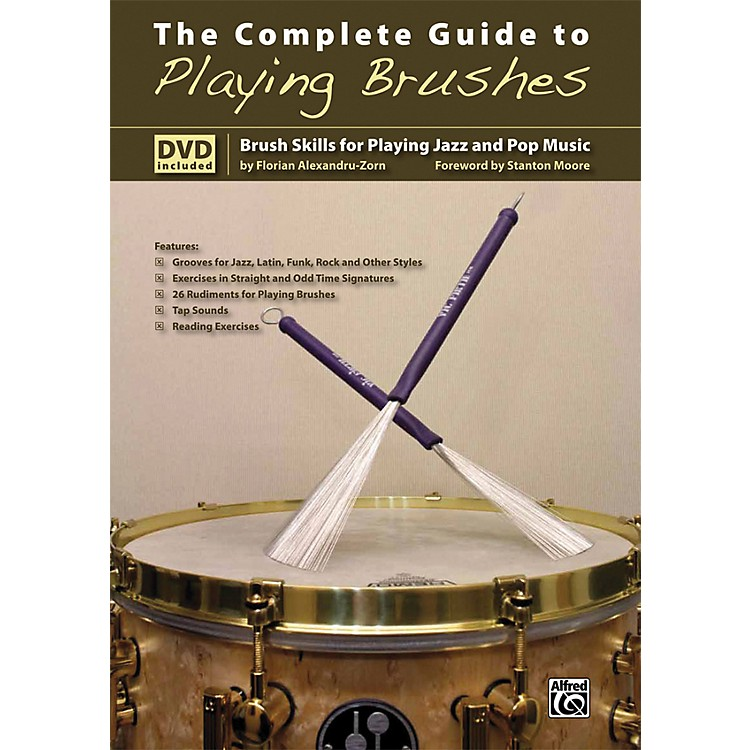AlfredThe Complete Guide to Playing Brushes Book & DVD