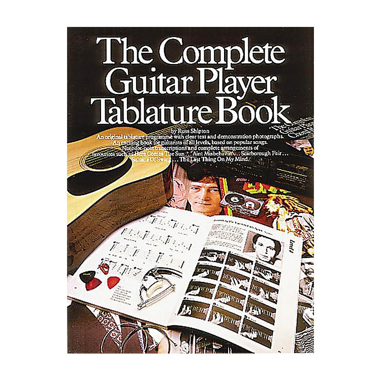 Music SalesThe Complete Guitar Player Tablature Book Music Sales America Series Softcover Written by Russ Shipton