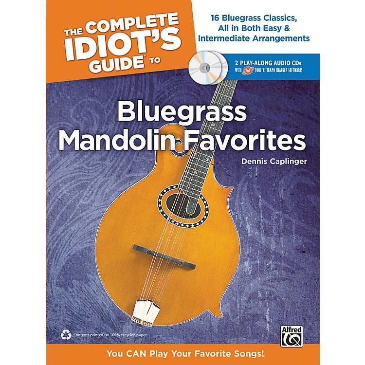AlfredThe Complete Idiot's Guide to Bluegrass Mandolin Favorites Book & 2 CDs