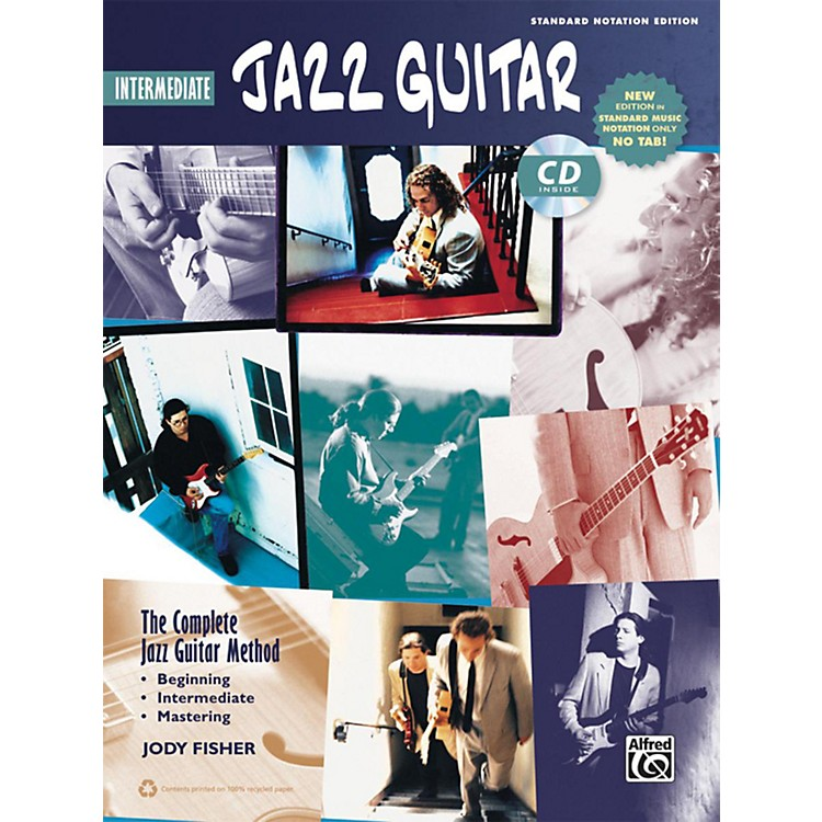 Alfred The Complete Jazz Guitar Method: Intermediate Jazz Guitar Book & CD (Standard Notation Only)