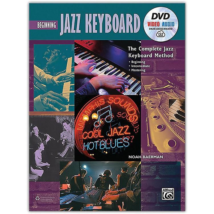 AlfredThe Complete Jazz Keyboard Method - Beginning Jazz Keyboard Book DVD & Online Audio & Video