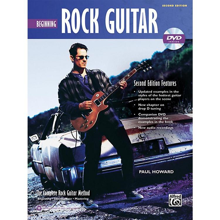 AlfredThe Complete Rock Guitar Method: Beginning Rock Guitar Book & DVD (2nd Edition)