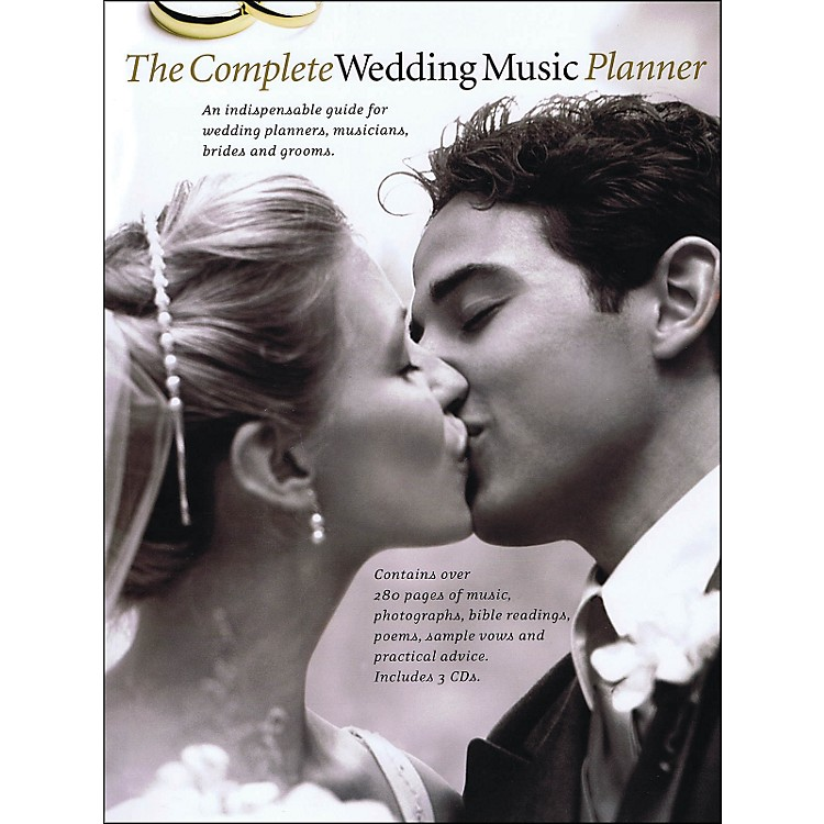 Music SalesThe Complete Wedding Music Planner (Book/3-CD Pkg) arranged for piano, vocal, and guitar (P/V/G)