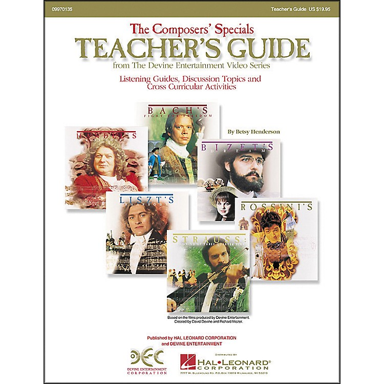 Hal Leonard The Composers' Specials: Teacher's Guide