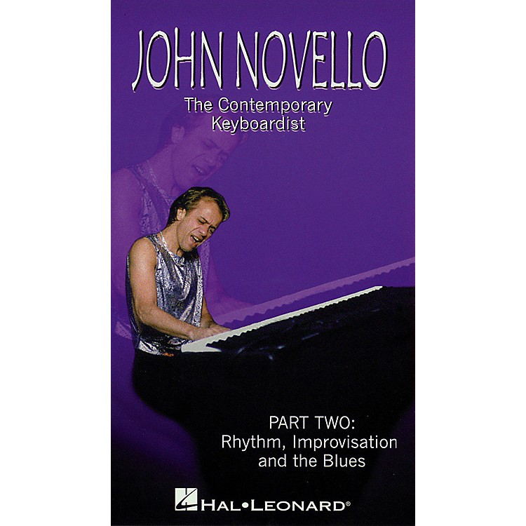 Hal LeonardThe Contemporary Keyboardist - Rhythm, Improv, and Blues Videos Series Video Performed by John Novello