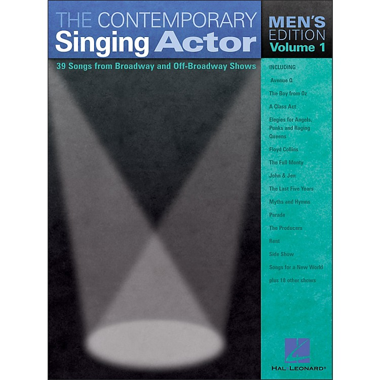 Hal Leonard The Contemporary Singing Actor - Men's Edition Volume 1