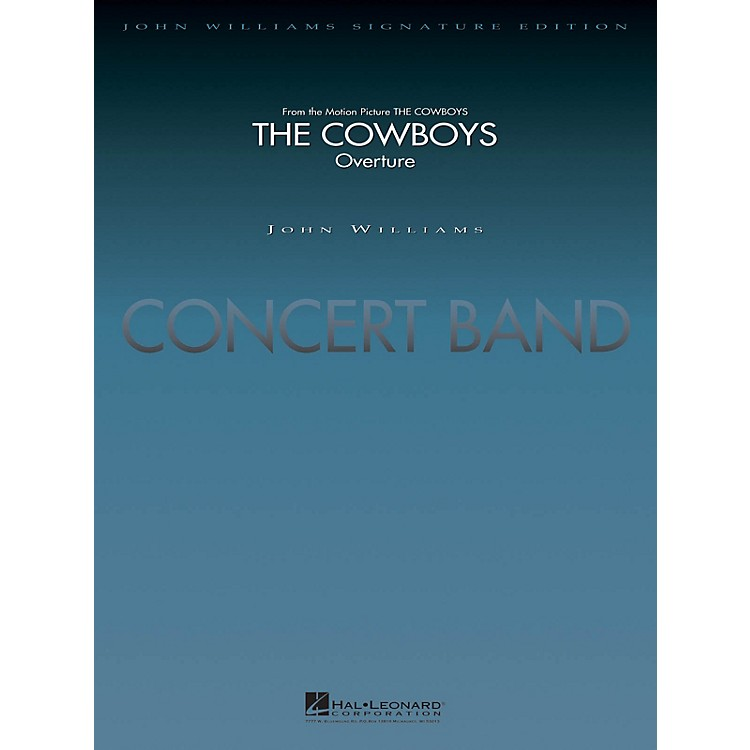 Hal Leonard The Cowboys (Score and Parts) Concert Band Level 5 Arranged by Jay Bocook