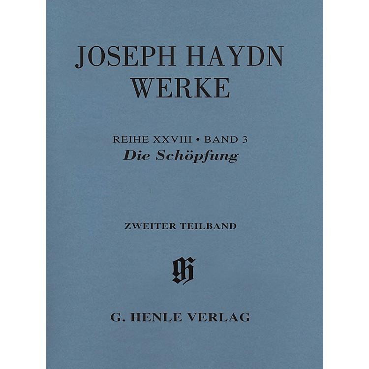 G. Henle VerlagThe Creation, Hob. XXI:2 Henle Edition Softcover by Joseph Haydn Edited by Annette Oppermann
