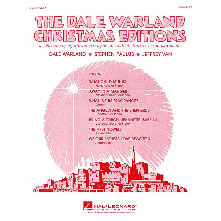 Hal Leonard The Dale Warland Christmas Editions, Vol. I SATB arranged by Dale Warland
