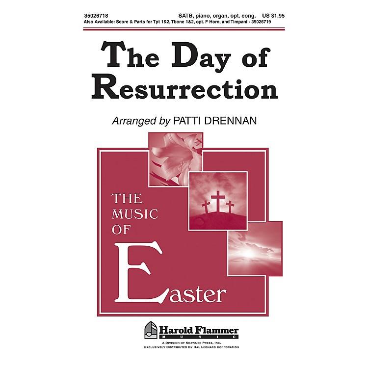 Shawnee PressThe Day of Resurrection SATB arranged by Patti Drennan
