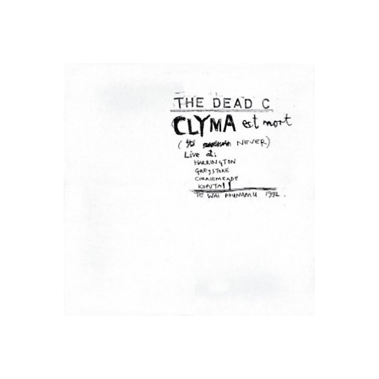 AllianceThe Dead C - Clyma Est Mort & Tentative Power
