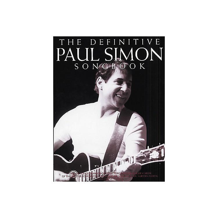 Music SalesThe Definitive Paul Simon Piano, Vocal, Guitar Songbook