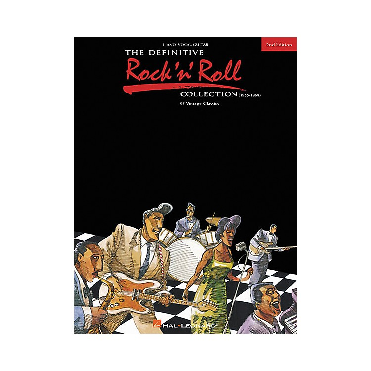 Hal LeonardThe Definitive Rock 'n' Roll Collection 2nd Edition Piano, Vocal, Guitar Songbook
