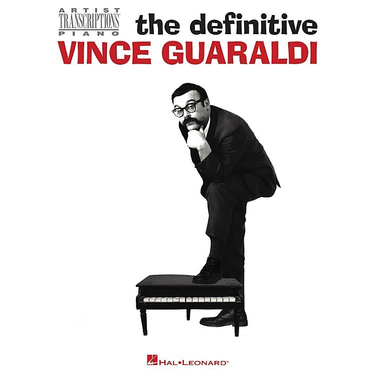 Hal LeonardThe Definitive Vince Guaraldi - Artist Transcriptions for Piano