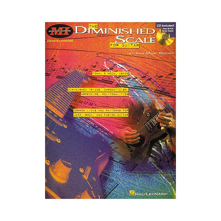 Musicians InstituteThe Diminished Scale for Guitar (Book/CD)