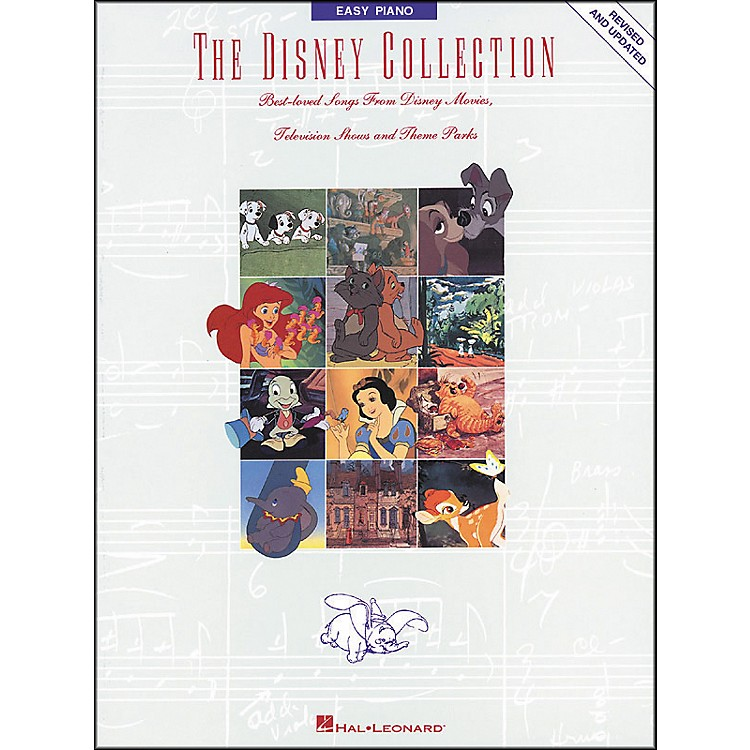 Hal LeonardThe Disney Collection Revised And Updated for Easy Piano