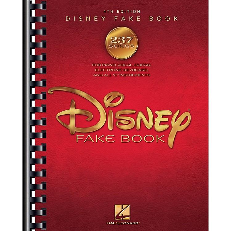 Hal LeonardThe Disney Fake Book - 4th Edition Fake Book Series Softcover