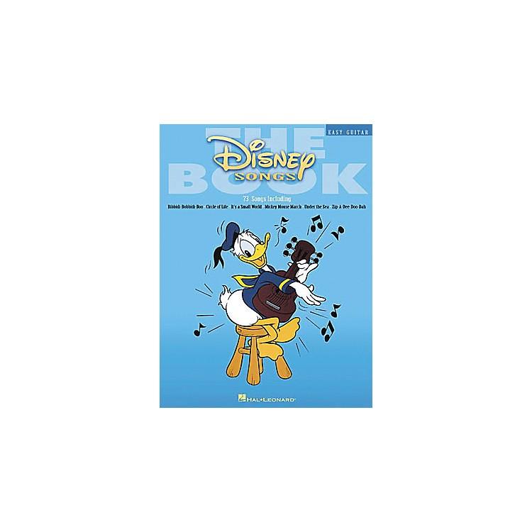 Hal LeonardThe Disney Songs Easy Guitar Tab Songbook