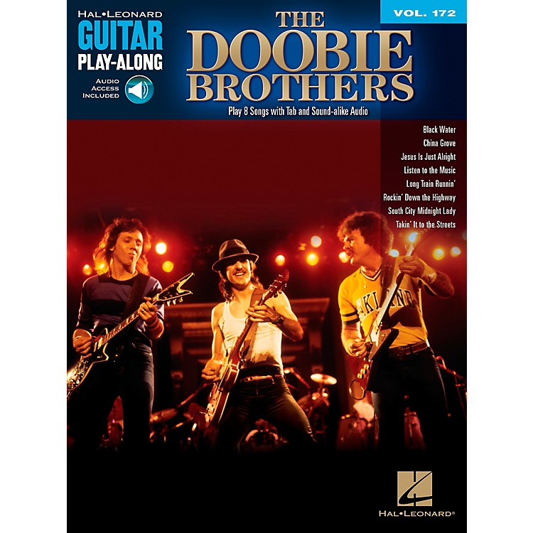 Hal Leonard The Doobie Brothers - Guitar Play-Along Series Volume 172 Book/CD