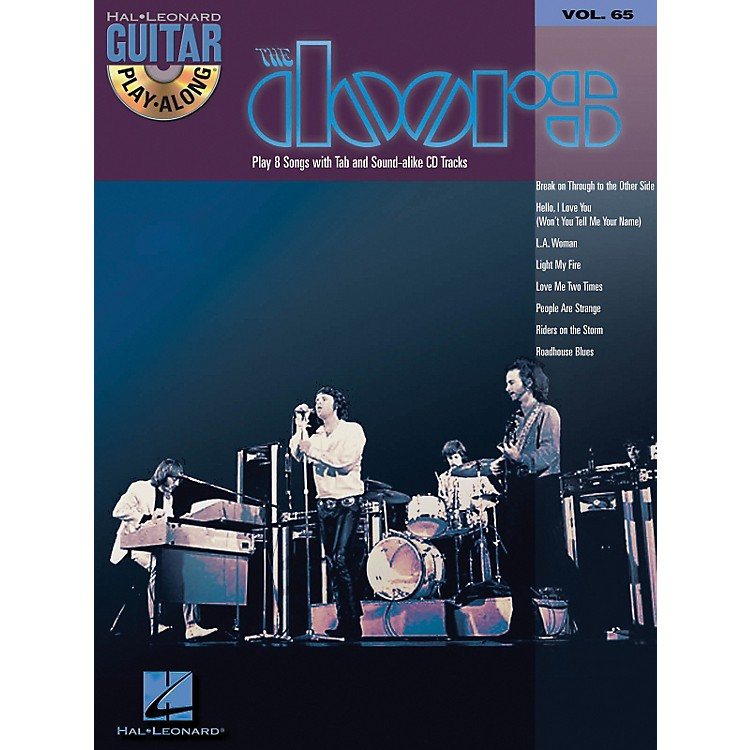 Hal Leonard The Doors Guitar Play-Along Series Volume 65 (Book/CD)
