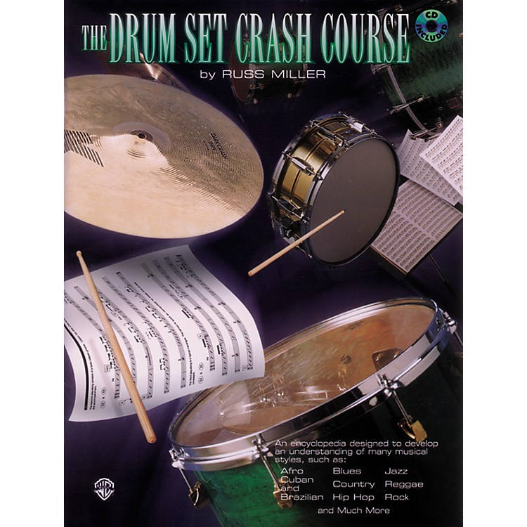 Alfred The Drum Set Crash Course with Russ Miller