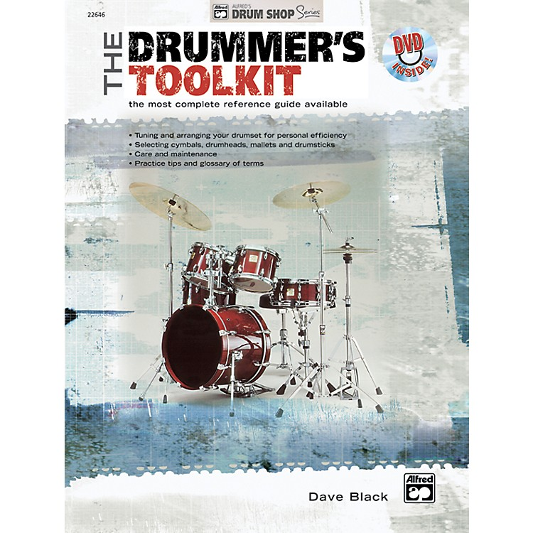Alfred The Drummer's Toolkit Book & DVD