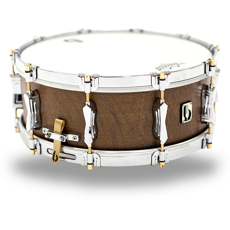 British Drum Co.The Duke Limited Edition Bog Oak Snare Drum14 x 5.5 in.Natural Satin