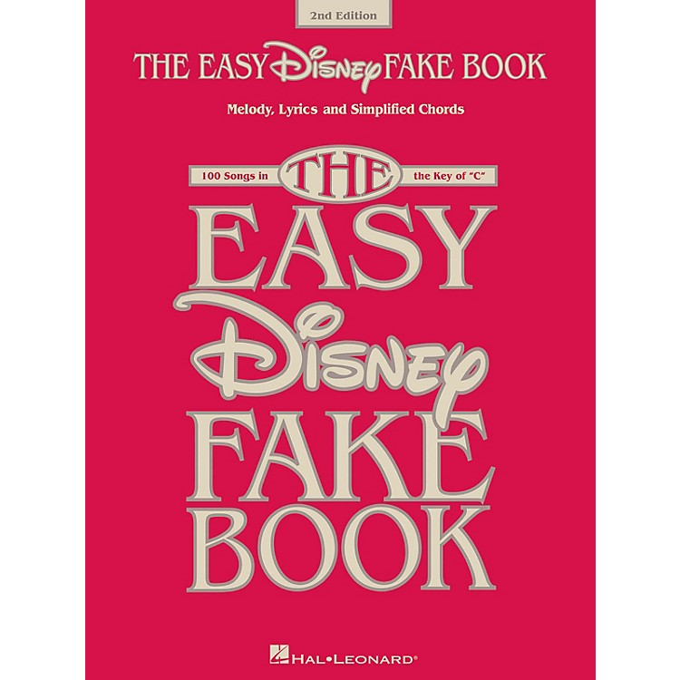Hal LeonardThe Easy Disney Fake Book - 2nd Edition (100 Songs in the Key of C)