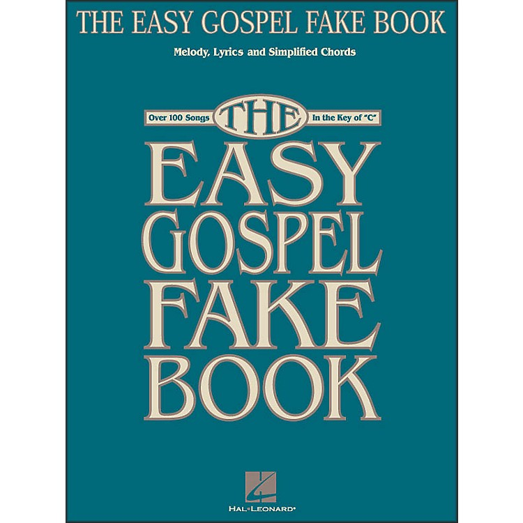 Hal LeonardThe Easy Gospel Fake Book