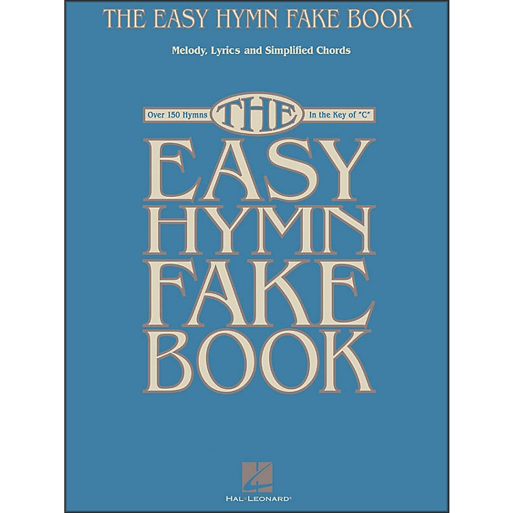 Hal LeonardThe Easy Hymn Fake Book