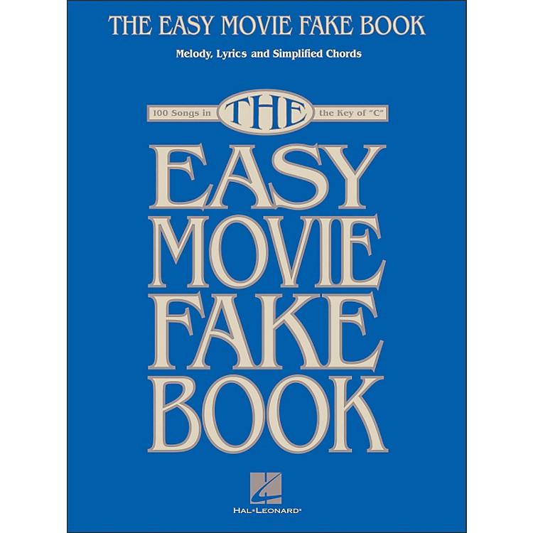 Hal LeonardThe Easy Movie Fake Book - 100 Songs In The Key Of C