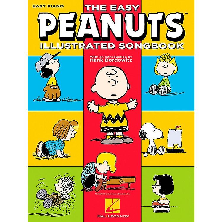Hal LeonardThe Easy Peanuts Illustrated Songbook for Easy Piano