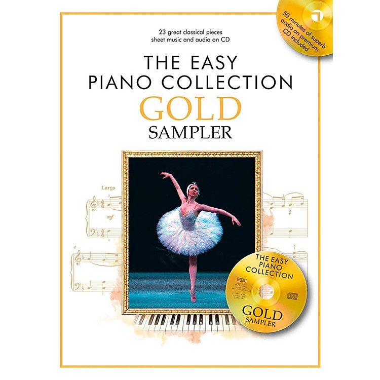 Music Sales The Easy Piano Collection Gold Sampler Book/CD