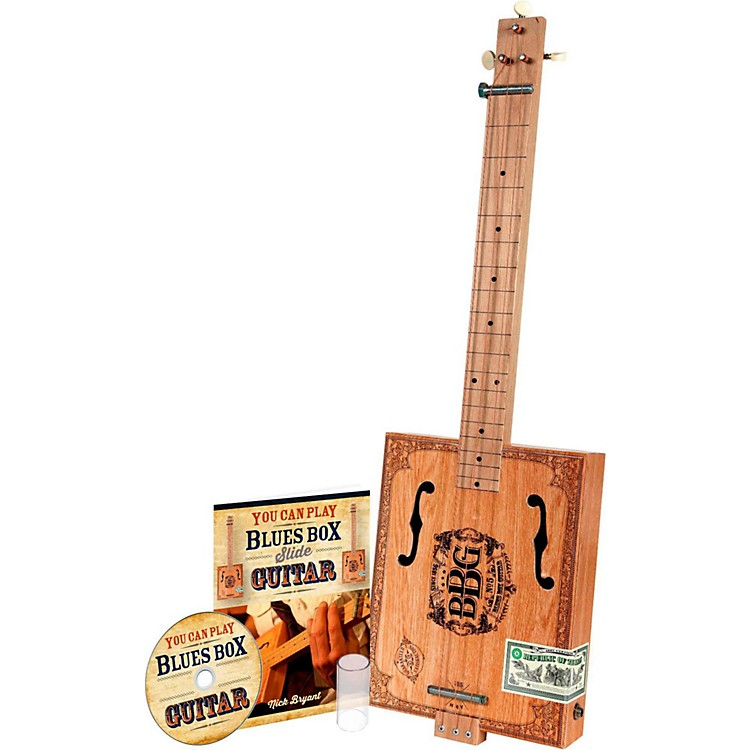HinklerThe Electric Blues Box Slide Guitar with Guitar Slide, Instruction Book and DVD