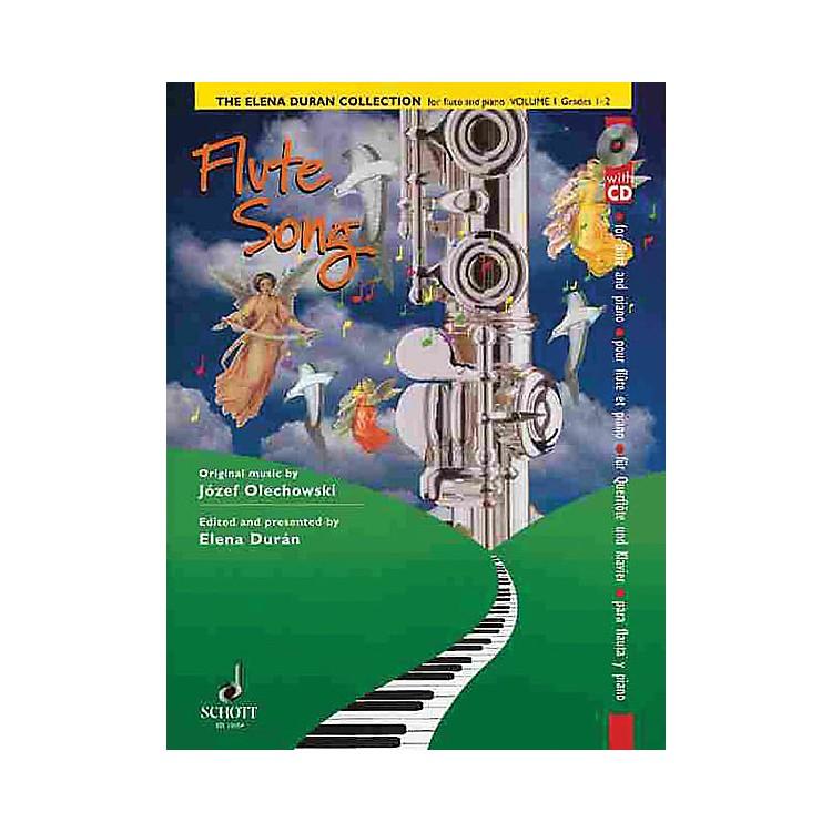 SchottThe Elena Durán Collection (Volume I: Flute Songs (Grades 1-2)) Schott Series