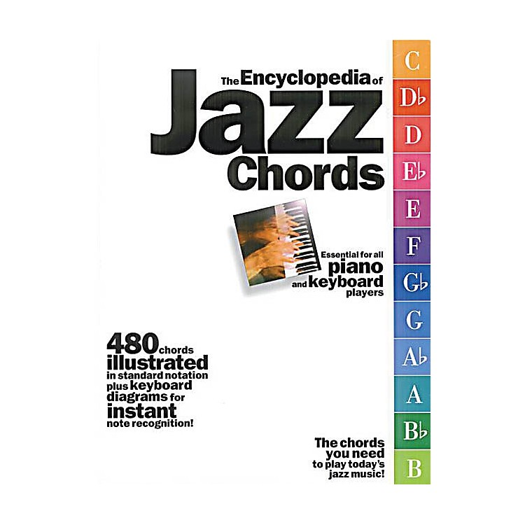 Music SalesThe Encyclopedia of Jazz Chords Music Sales America Series Softcover Written by Various
