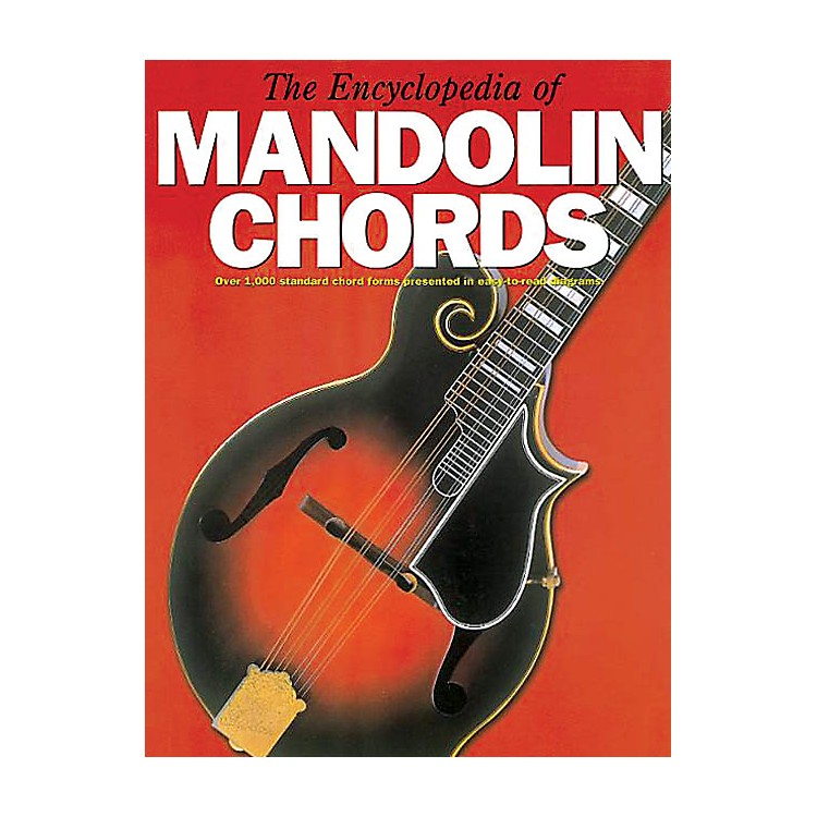 Music Sales The Encyclopedia of Mandolin Chords Music Sales America Series Softcover Written by Various Authors