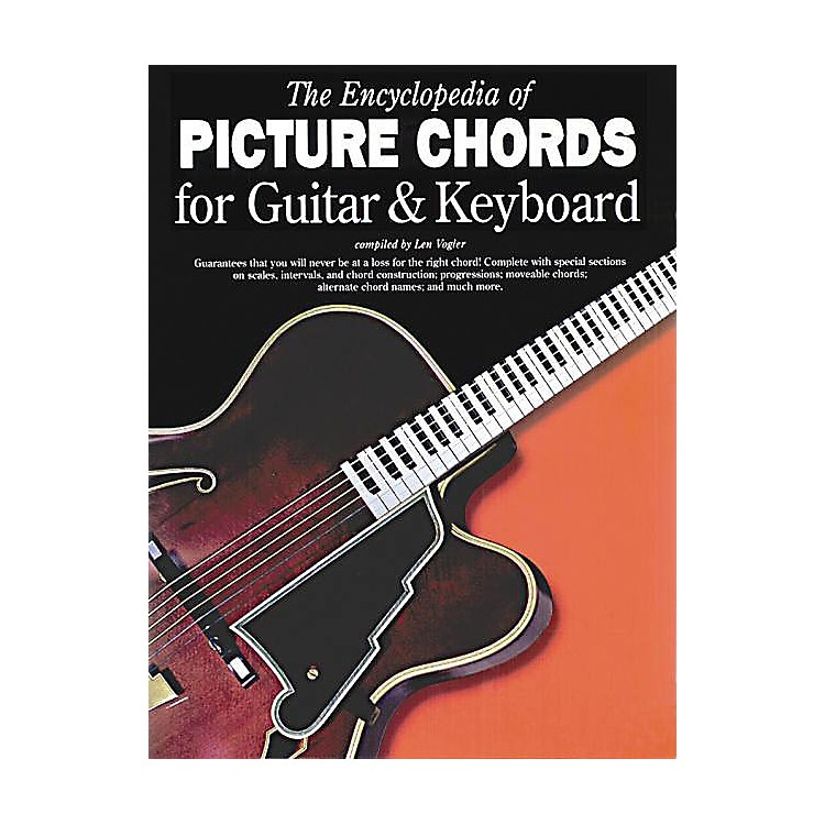 Music Sales The Encyclopedia of Picture Chords for Guitar & Keyboard Music Sales America Softcover by Leonard Vogler