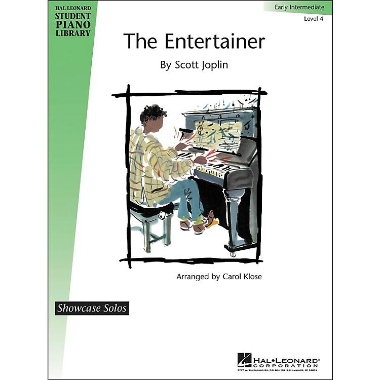 Hal LeonardThe Entertainer Early Intermediate Level 4 Showcase Solos Hal Leonard Student Piano Library by Carol Klose