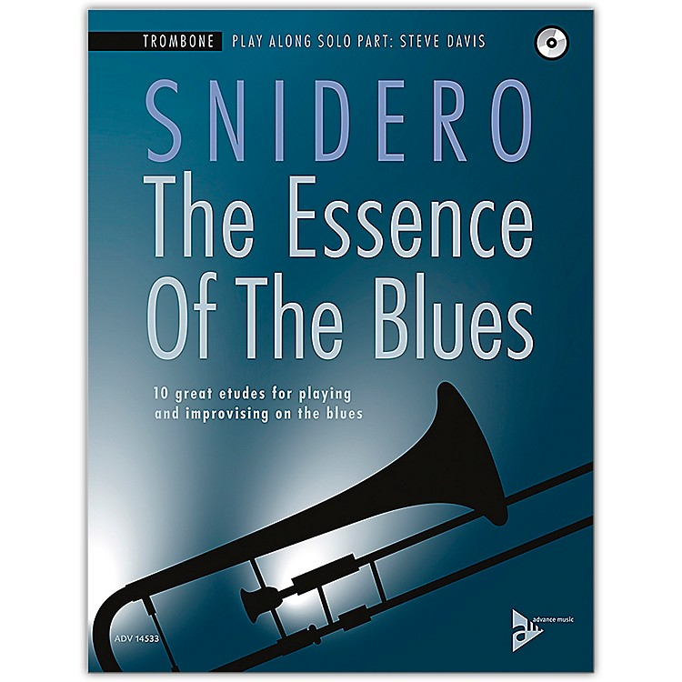 ADVANCE MUSICThe Essence of the Blues: Trombone Book & CD