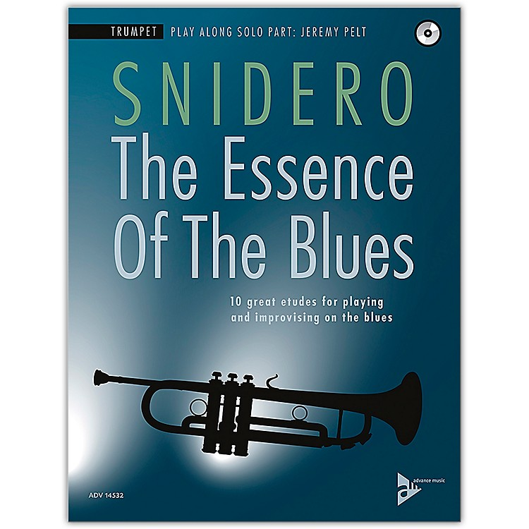ADVANCE MUSICThe Essence of the Blues: Trumpet Book & CD